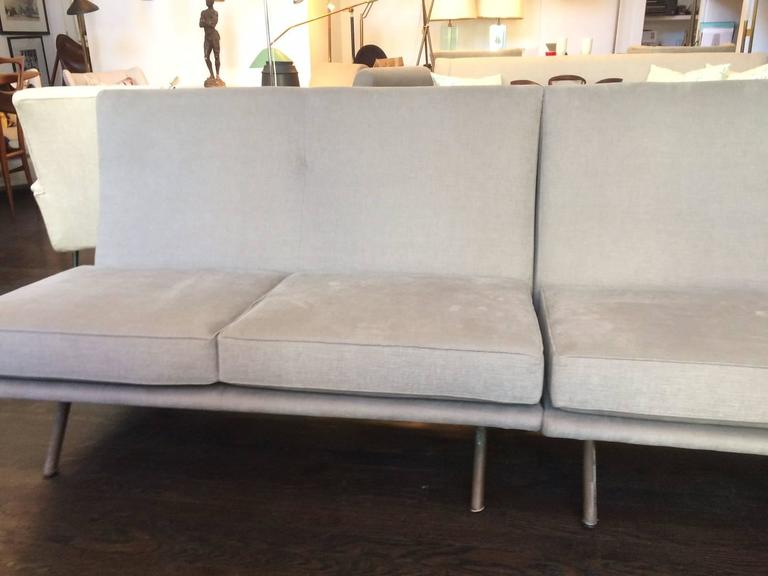Mid-Century Modern Sectional Triennale Sofa by Marco Zanuso For Sale