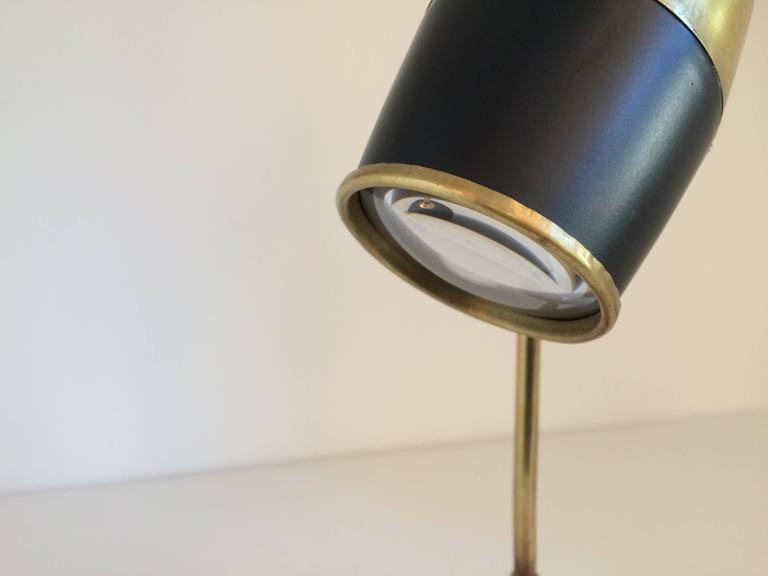 Mid-Century Modern Torlasco Table Lamp for Lumi For Sale