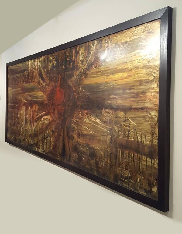 Brutalist Bernhard Rohne's 1971 Masterpiece for the Baker Showroom For Sale