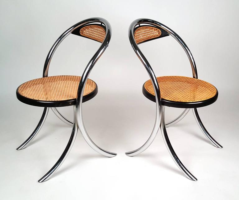 Four Italian Klismos Chairs 3