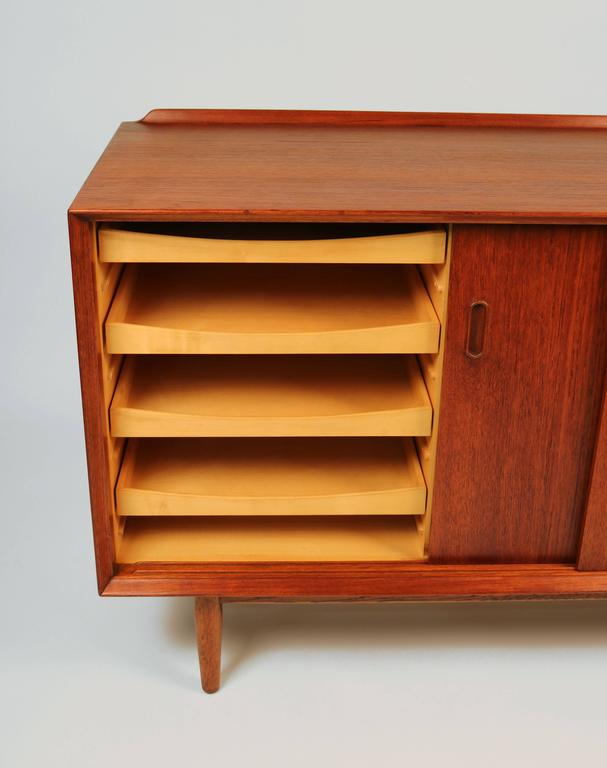 Arne Vodder Danish Modern Teak Cabinet for Sibast For Sale 1