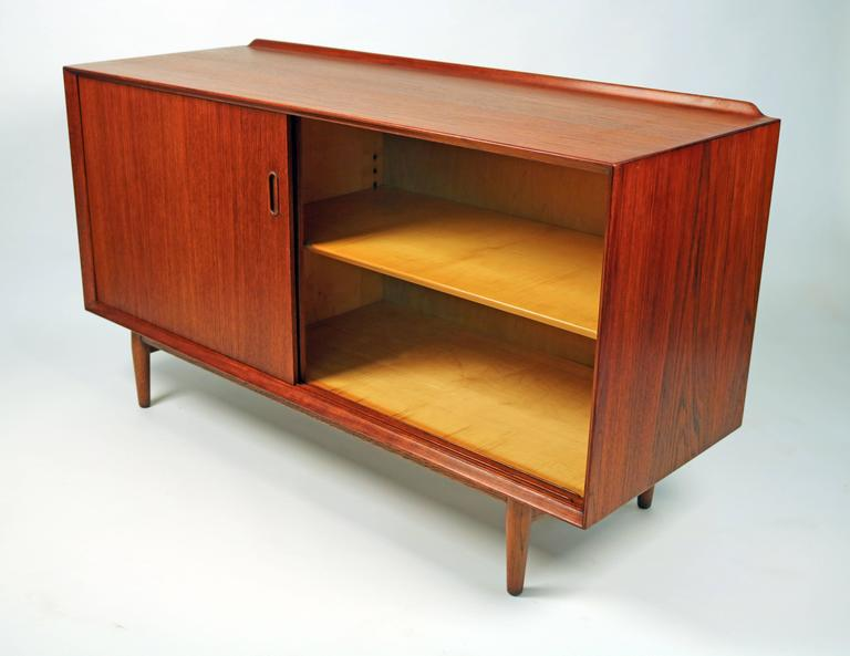 Arne Vodder Danish Modern Teak Cabinet for Sibast For Sale 2