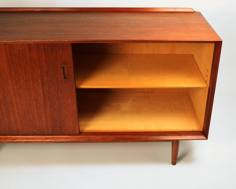 Arne Vodder Danish Modern Teak Cabinet for Sibast For Sale 3