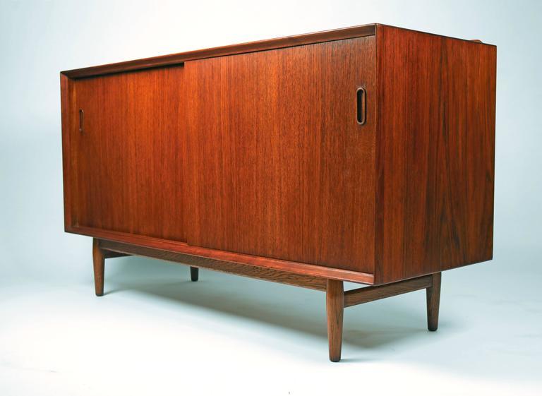 Scandinavian Modern Arne Vodder Danish Modern Teak Cabinet for Sibast For Sale