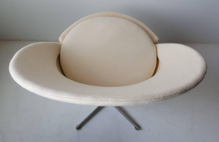 Scandinavian Modern Verner Panton Cone Chair For Sale