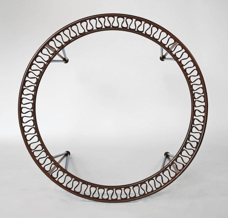 Maurizio Tempestini for Salterini Patio Table and Chairs In Excellent Condition For Sale In Dallas, TX