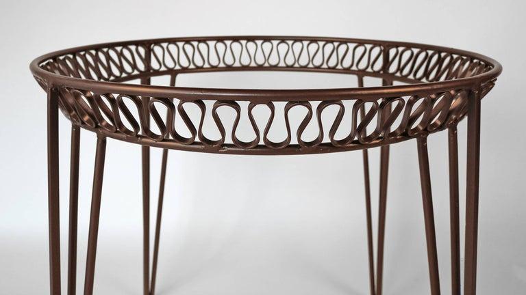Italian Maurizio Tempestini for Salterini Patio Table and Chairs For Sale