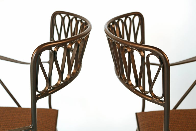 Maurizio Tempestini for Salterini Patio Table and Chairs For Sale 2