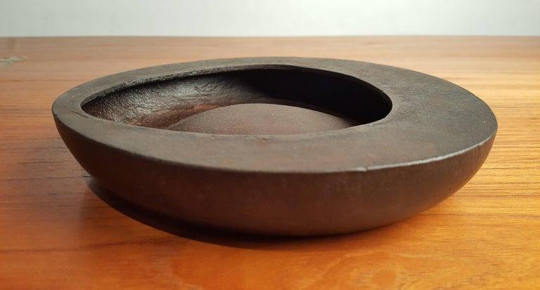 Cast Rare Isamu Noguchi Sculptural Bowl  For Sale