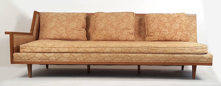 American Mid Century Modern Designer Sectional Sofa By Widdicomb For