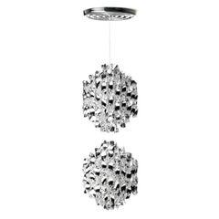 Spiral SP2 Chandelier Designed by Verner Panton for Verpan