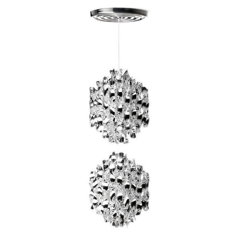 Spiral SP2 Chandelier Designed by Verner Panton for Verpan For Sale