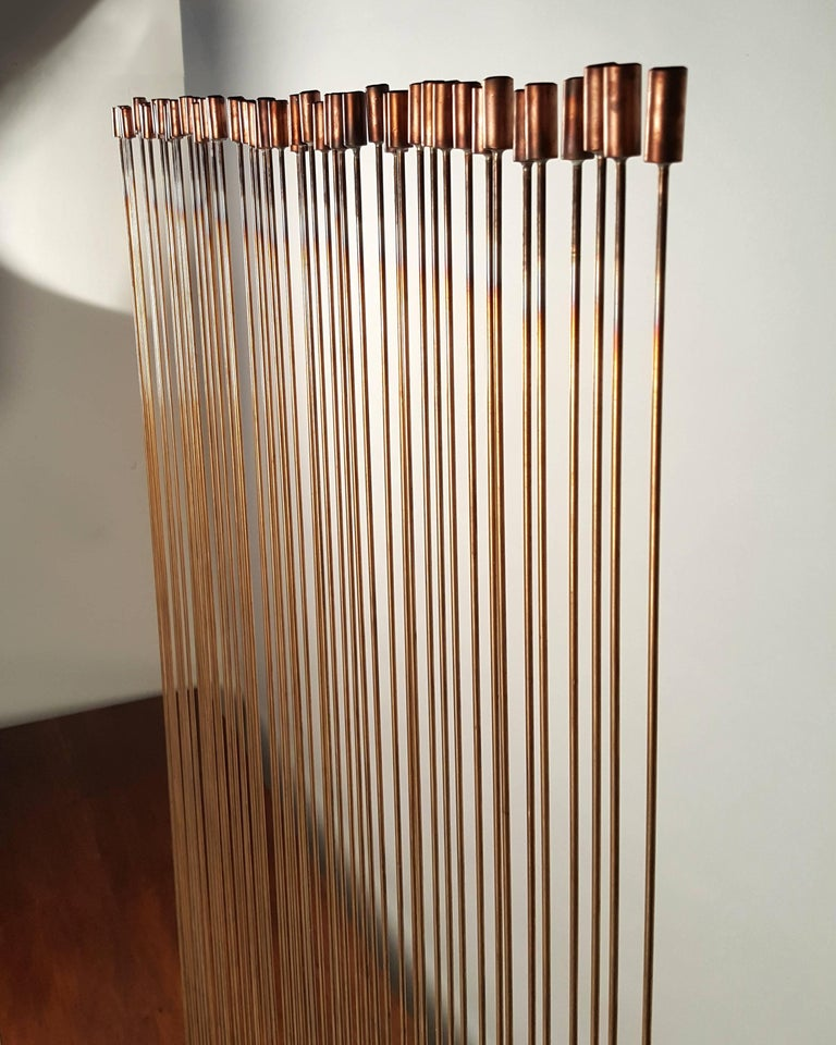 Large Val Bertoia 'Sonambient' Bronze and Copper Sound Sculpture 9