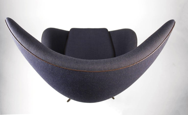 Danish 'Fritz Hansen's Choice' Limited Edition Arne Jacobsen Egg Chair with Bronze Base For Sale