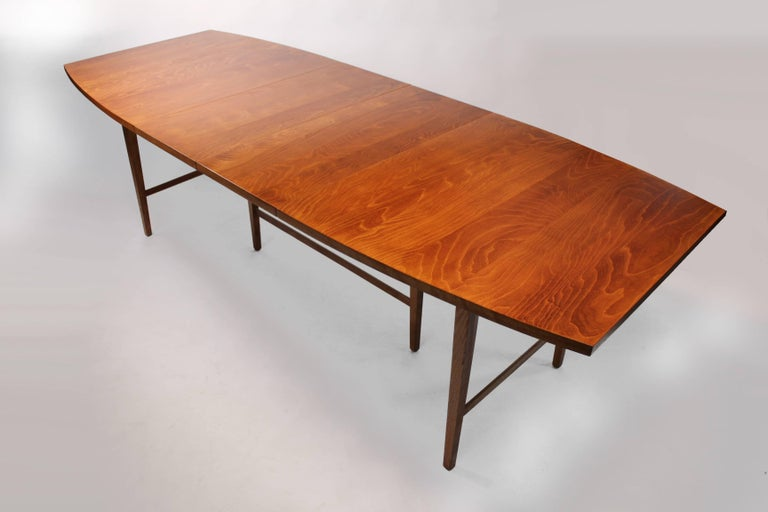American Paul McCobb Maple Perimeter Group Dining Table for Winchendon For Sale