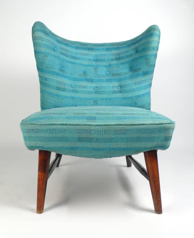 Rare And Important, 201 Armless Chair By Elias Svedberg For Nordiska  Kompaniet  1947 Imported