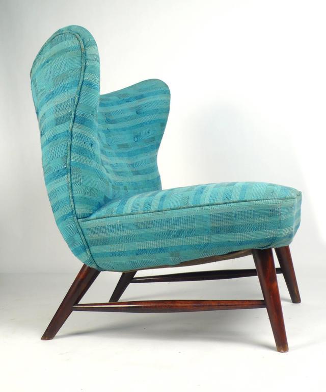 Mid-Century Modern 201 Armless Chair by Elias Svedberg  For Sale