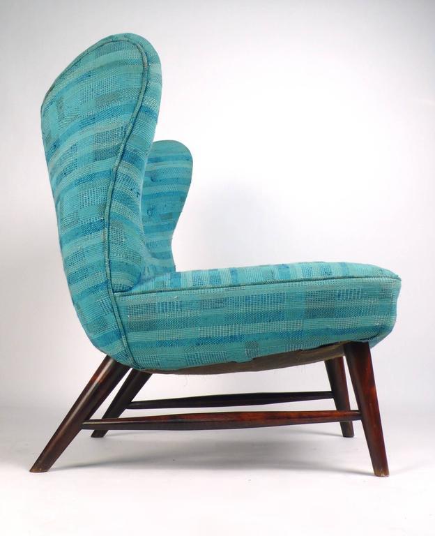 Swedish 201 Armless Chair by Elias Svedberg  For Sale