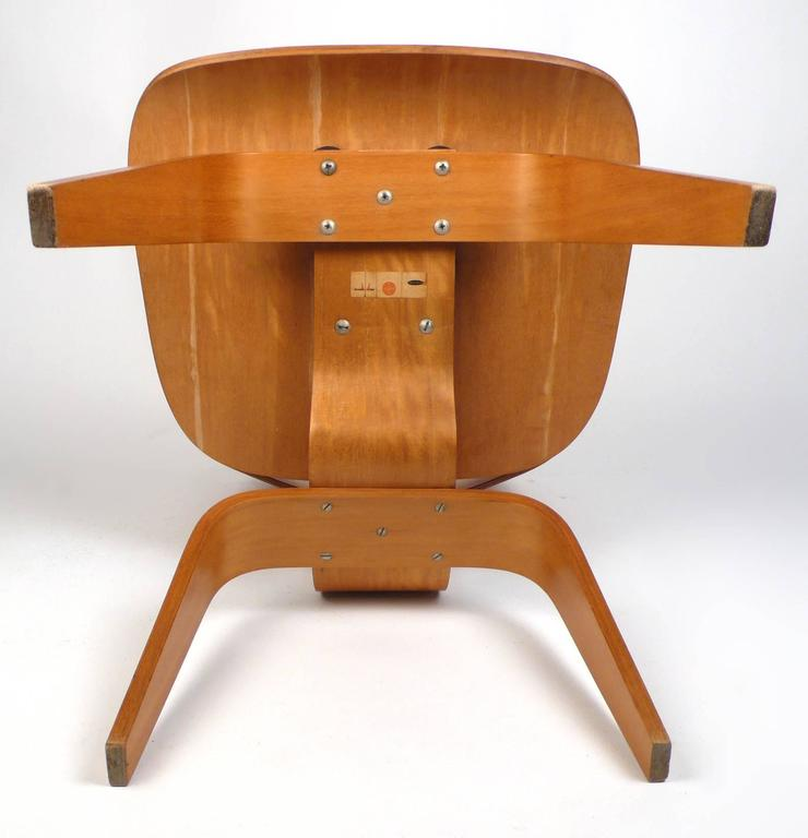 Attrayant Mid Century Modern Evans Plywood Chair DCW By Charles Eames 1940s For Sale