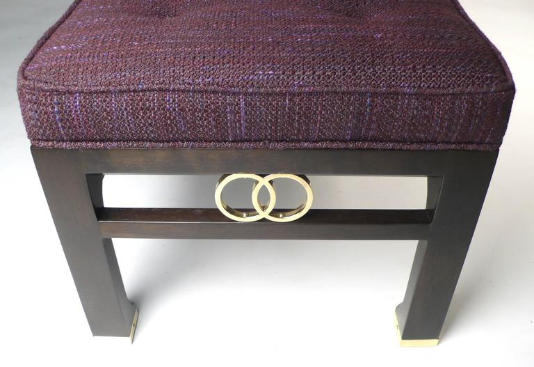 American Michael Taylor for Baker Far East Collection Benches For Sale