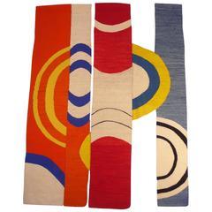 Modernist Handwoven Tapestry