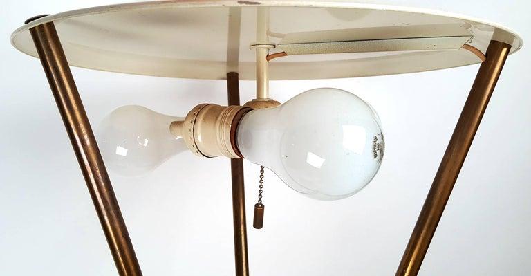 T.H. Robsjohn-Gibbings Tripod Floor Lamp for Hansen For Sale 1