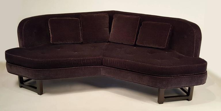 Mid-20th Century Edward Wormley for Dunbar Angled Sofa For Sale