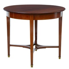 Early 20th Century 1920s Mahogany Center Table
