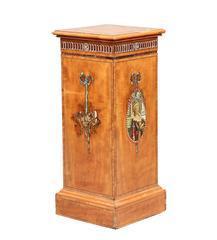 20th Century Edwardian Satinwood Pedestal