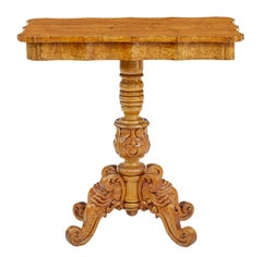 19th Century Swedish Birch Root Occasional Table