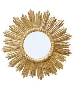 20th Century Decorative Sunburst Mirror