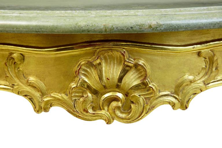 Stunning Early 20th Century Six-Piece Gilt French Salon Suite For Sale 4