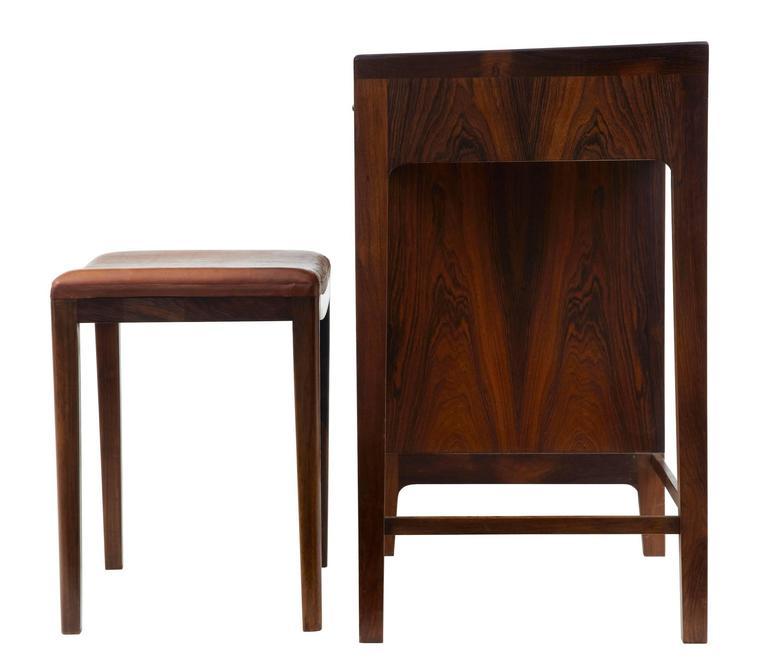 Scandinavian Modern 1960s Danish Design Rosewood Dressing Sideboard by Frode Holm For Sale