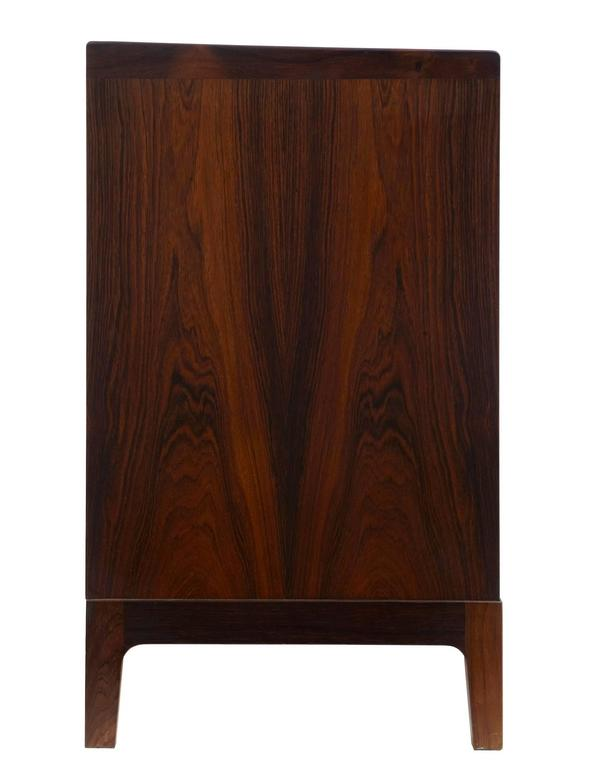 Hand-Crafted 1960s Danish Design Rosewood Dressing Sideboard by Frode Holm For Sale