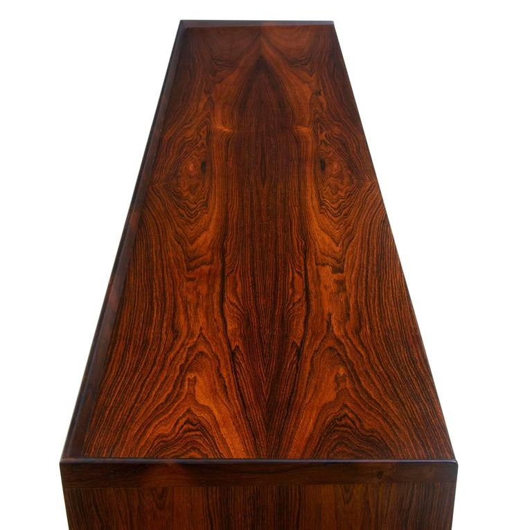 1960s Danish Design Rosewood Dressing Sideboard by Frode Holm For Sale 1