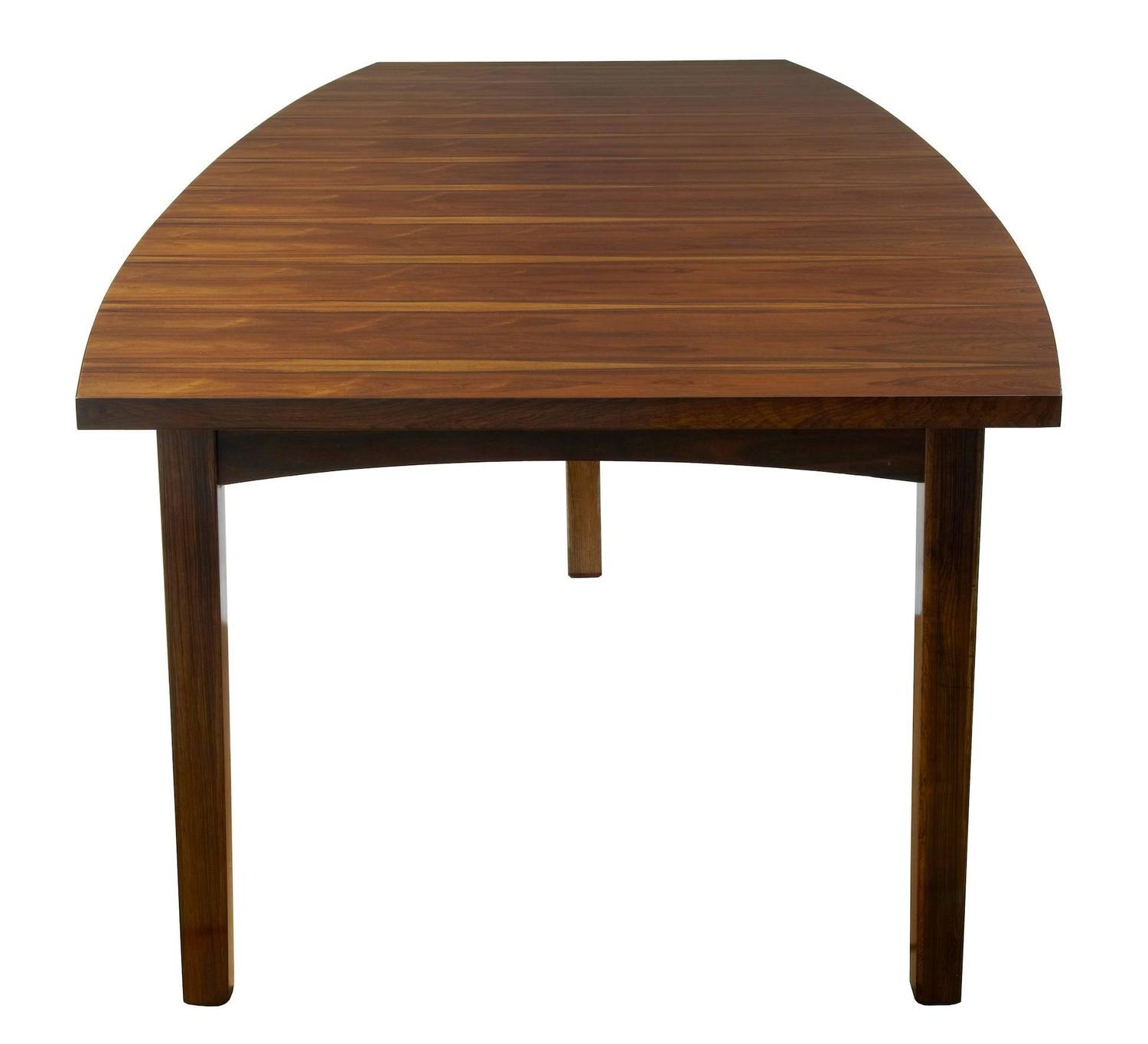 Large 1960s Danish Rosewood Dining Table For Sale At 1stdibs