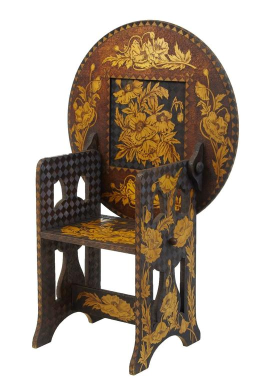 Early 20th century american arts and crafts collection of for Arts and crafts furniture makers