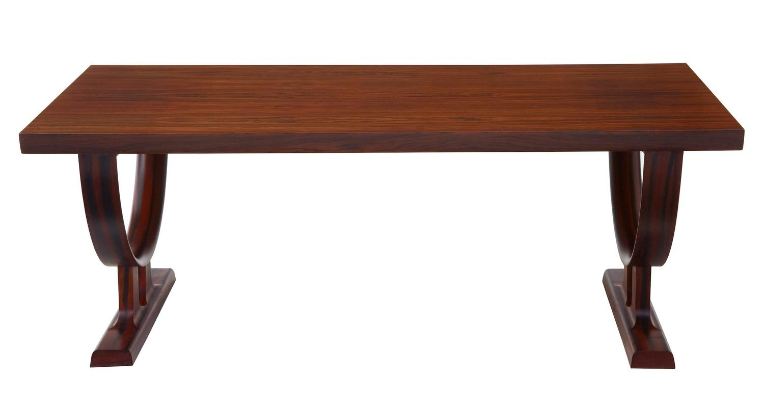 1970s danish rosewood scandinavian coffee table at 1stdibs. Black Bedroom Furniture Sets. Home Design Ideas