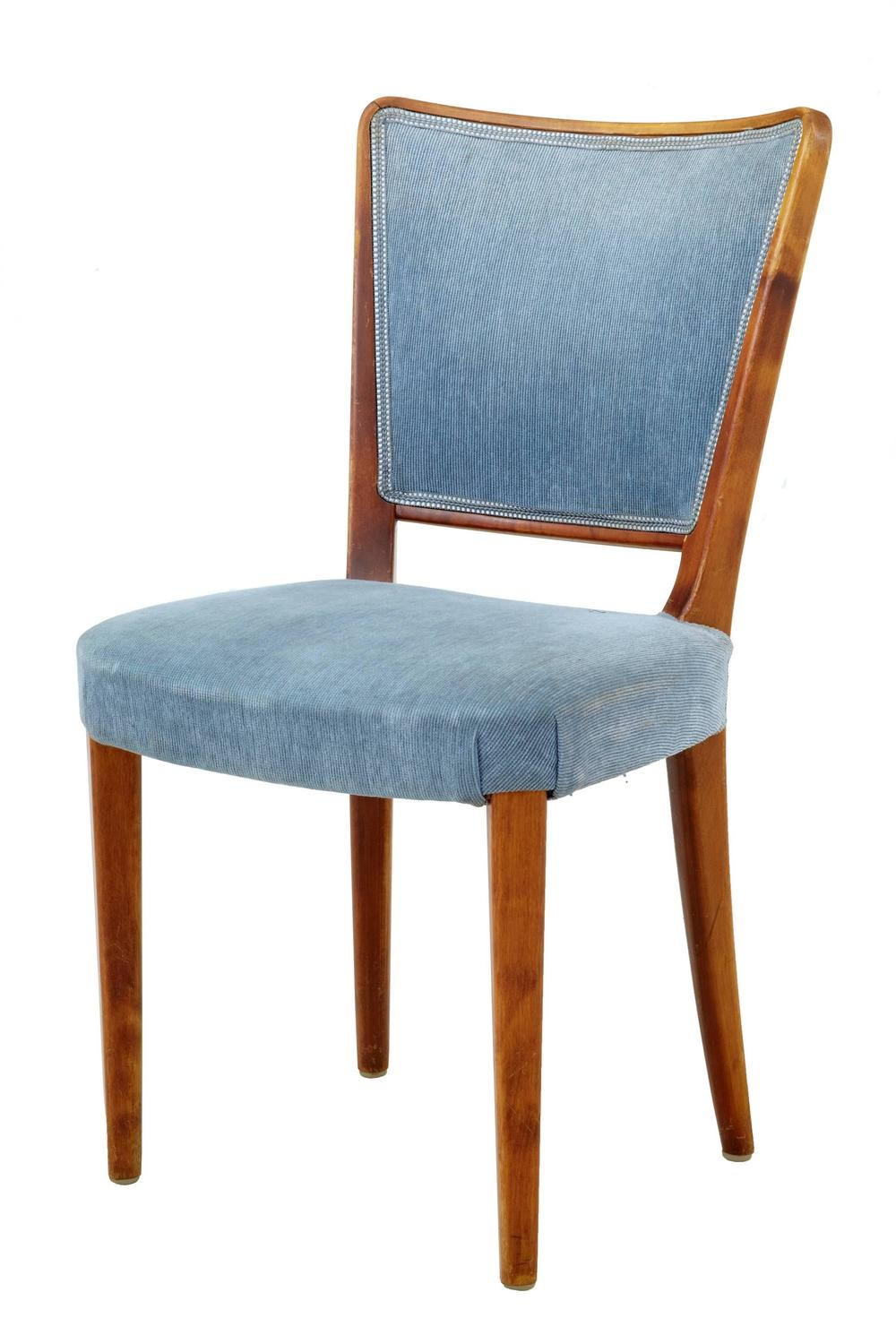 birch dining chairs large set of 18 birch late deco dining chairs for 1660