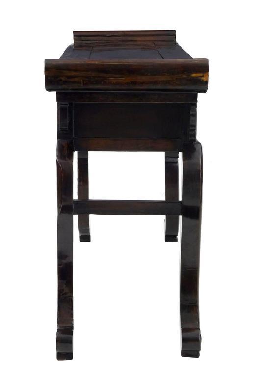 Chinesischer Lackierter Beistelltisch, 19. Jahrhundert 3