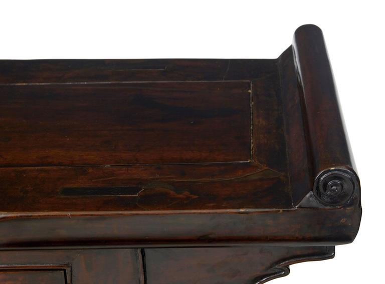 Chinesischer Lackierter Beistelltisch, 19. Jahrhundert 6
