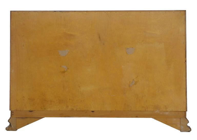 Deko Kommode aus Birke, 20. Jahrhundert 4