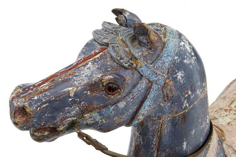 Kontinentales Dekoratives Karusellpferd, Frühes 20. Jahrhundert 6