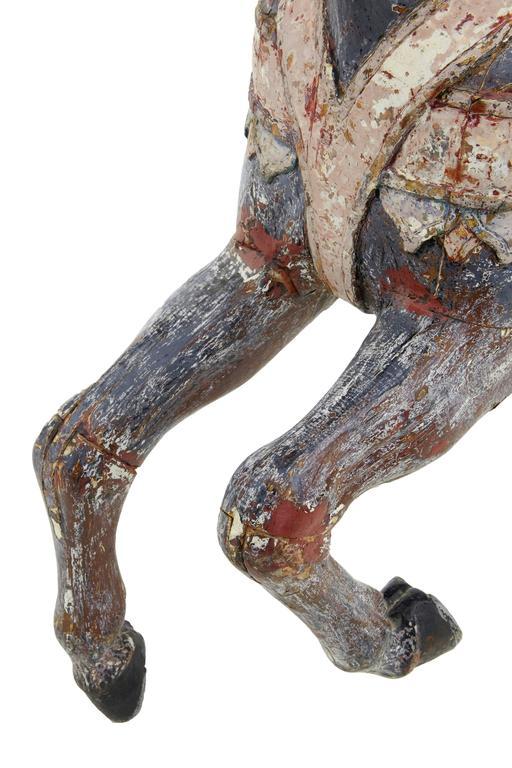 Kontinentales Dekoratives Karusellpferd, Frühes 20. Jahrhundert 7