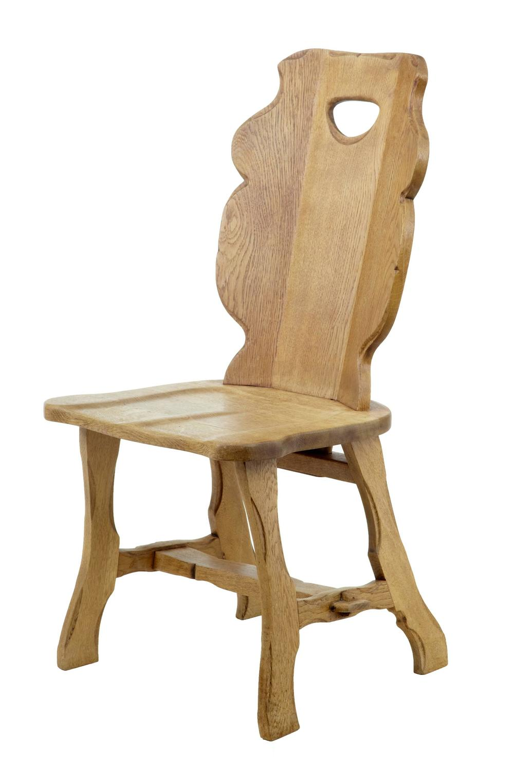 Set Of Ten 1920s Swedish Oak Dining Chairs For Sale At 1stdibs