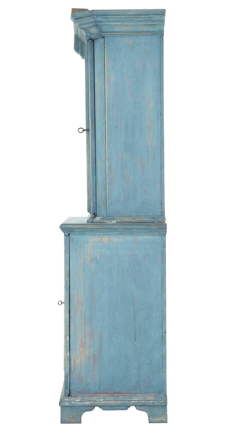 how to paint a kitchen cabinet 19th century swedish painted kitchen cabinet cupboard for 8786