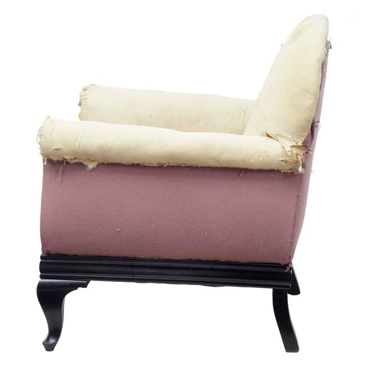 19th century mahogany three piece suite armchairs sofa at for Furniture 3 piece suites