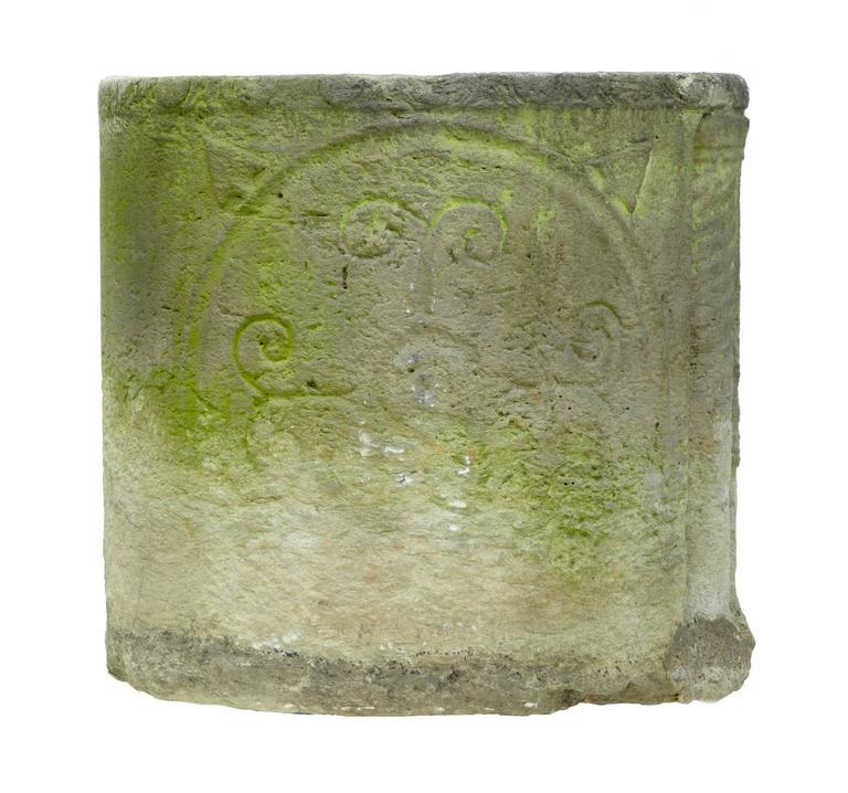Unique Anglo Roman Limestone Sarcophagus For Sale 2