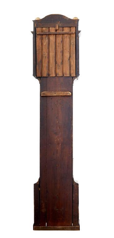 Mahagoni Standuhr, John Purden London, spätes 18. Jahrhundert 4
