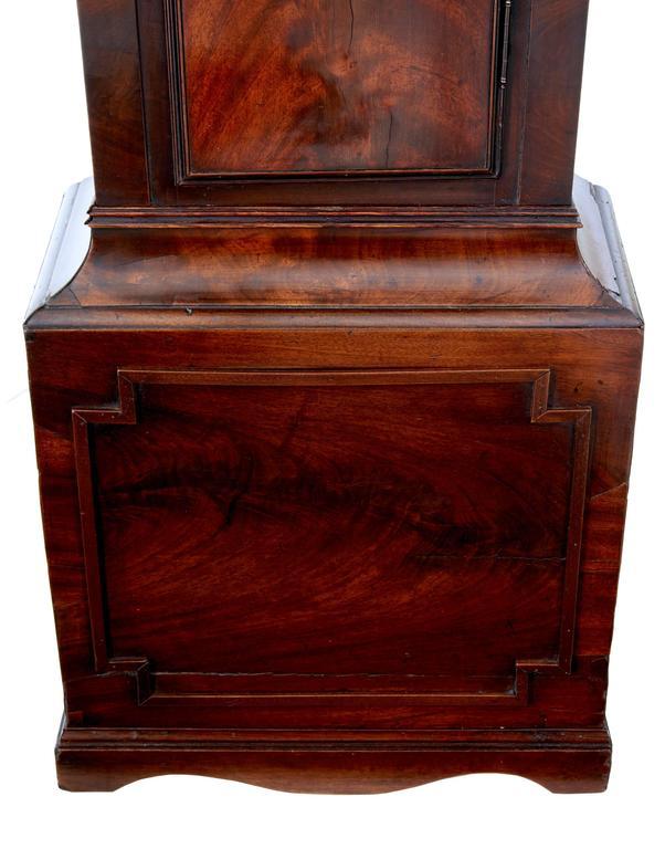 Mahagoni Standuhr, John Purden London, spätes 18. Jahrhundert 7